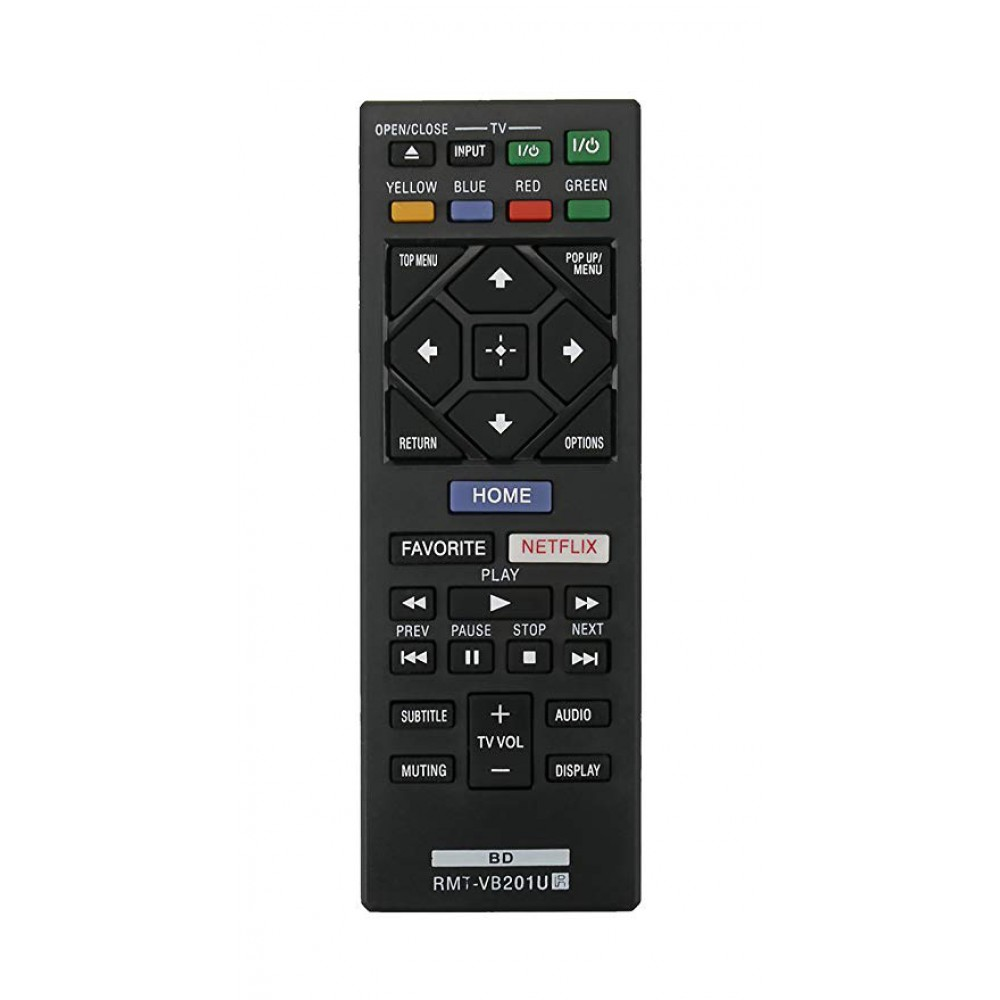Sony RMT-VB201U Compatible Remote Controller for Bluray series BDP-S UBP-X